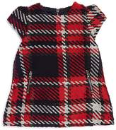 Tartine et Chocolat Girls' Textured Plaid Dress