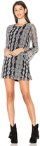 Band of Gypsies Geometric Dress in Black & White. - size S (also in )