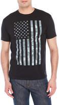 Body Rags USA Camo Flag Tee