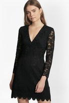 French Connection Emmie Lace Embellished Dress