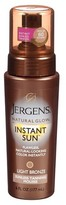 Jergens Natural Glow Instant Sun Moisturizing Lotion- Light Bronze (6 oz)