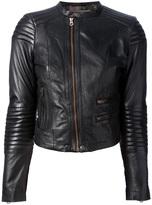 Paul Smith cropped leather jacket