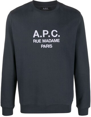 A.P.C. Logo-Print Sweatshirt