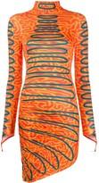 Maisie Wilen abstract print asymmetric dress
