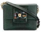 Dolce & Gabbana Dolce E Gabbana Women's Green Leather Shoulder Bag.