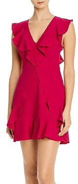 BCBGMAXAZRIA Ruffled Mini Dress - 100% Exclusive