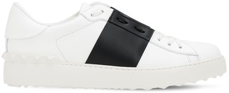 Valentino 20mm Open Leather Sneakers