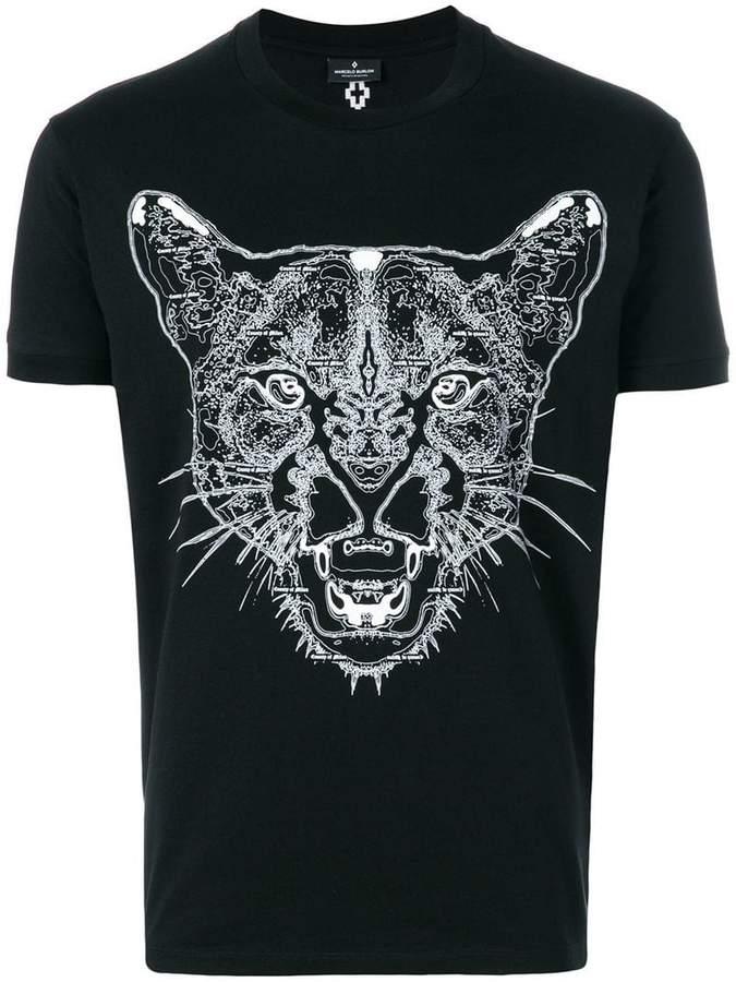 Marcelo Burlon County of Milan printed cheetah T-shirt