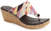 Andre Assous Women's 'Alyssa' Espadrille Wedge Sandal