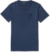 Balmain - Embroidered Cotton T-shirt