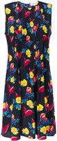 Diane von Furstenberg floral embroidered dress