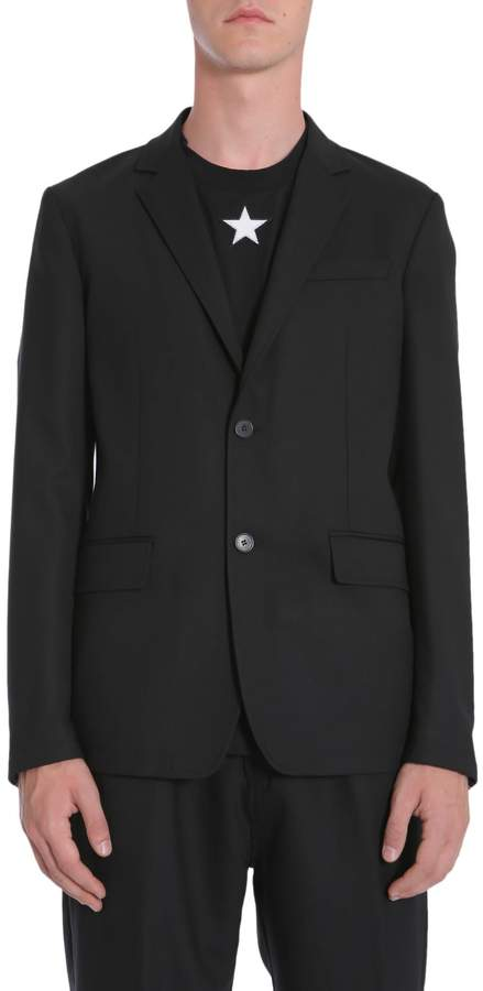 Givenchy Twill Wool Jacket