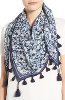Rebecca Minkoff Women's Beach Flower Square Scarf