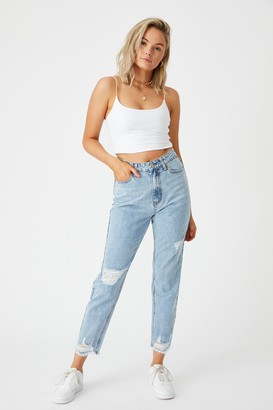 Supre The Mom Ripped Jean
