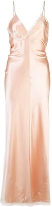 Alexander Wang lace trim slip dress