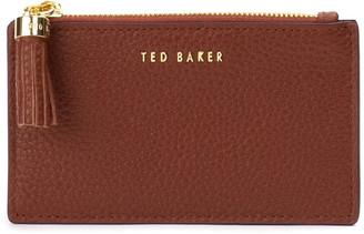 Ted Baker Peggey Tassel Zip Leather Card Holder