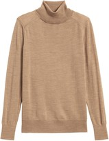 Banana Republic Petite Washable Merino Turtleneck Sweater