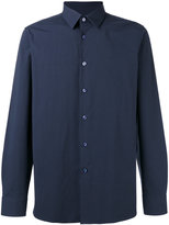 Raf Simons Button-up logo shirt - men - Cotton/Polyurethane - 52