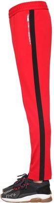 Versace Viscose Blend Jersey Track Pants