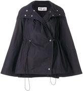 Teija cape coat