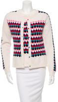 Olympia Le-Tan Printed Wool Cardigan Set w/ Tags