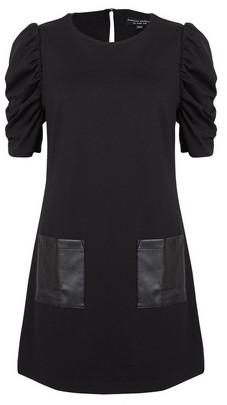Dorothy Perkins Womens Black Pocket Tunic Top, Black