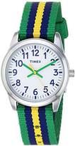 Timex Boys TW7C10100 Time Machines Metal Nylon Strap Watch