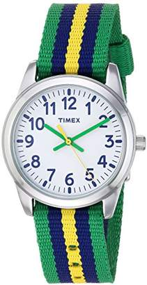 Timex Boys TW7C10100 Time Machines Metal Nylon Strap Watch