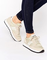 Saucony Jazz Original Sneakers In Cream & White