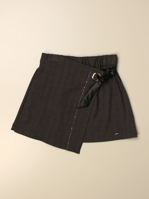 Liu Jo Short Skirt With Bow