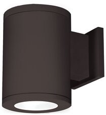 W.A.C. Lighting LED Outdoor Armed Sconce Fixture Finish: Bronze, Lens Degree/Light Direction: Flood/Straight Up and Down, Color Temperature/CRI: 4000K/85