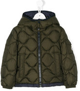 Moncler quilted effect jacket - kids - Polyamide/Goose Down - 4 yrs