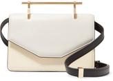 M2Malletier Indre Leather Shoulder Bag - Ivory