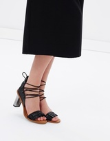 Jaggar Pleat Block Heels