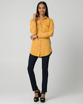 Le Château Lyocell Button-Front Tunic