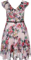 City Chic Ruffle Romance Dress