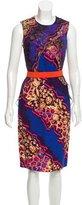 Peter Pilotto Digital Print Sheath Dress
