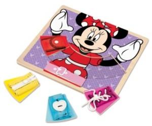 Melissa & Doug Minnie Wooden Basic Skills Board
