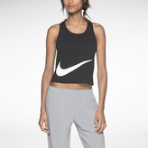 Nike Luxe Cropped Speed Women's Running Tank Top