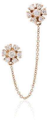 Dana Rebecca Designs Jennifer 14kt rose gold diamond earring