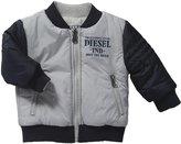 Diesel Josyb Reversible Jacket (Baby) - Gray-24 Months