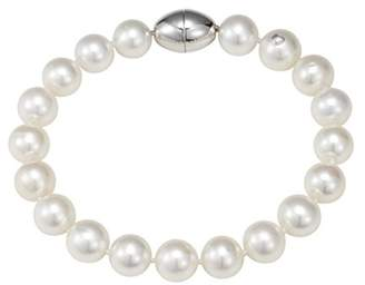 Camilla And Marc Adriana la mia perla Adriana La Mia Women's Bangle Pack 925 silver rhodium plated with freshwater cultured pearls white 19 cm - s21.1
