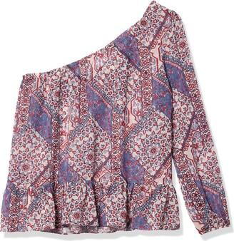 Jolt Women's Long Sleeve One Shoulder Top