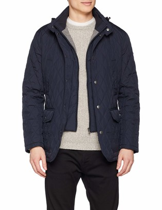 Hackett London Men's Quilted Zip Out JKT Jacket