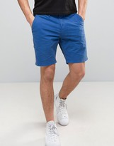 Paul Smith Chino Shorts Slim Fit in Blue