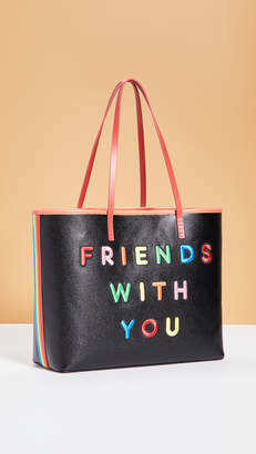 Alice + Olivia Friends With You x Missy Large Perfect Tote