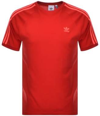 adidas BLC 3 Stripes T Shirt Red