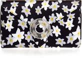 Wilbur & Gussie Edith Daffodil Yellow Silk Clutch Bag