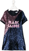 Little Marc Jacobs sequin embroidered dress