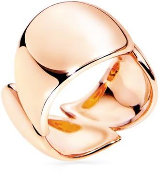 Tamara Comolli Medium Signature Wave 18K Rose Gold Ring